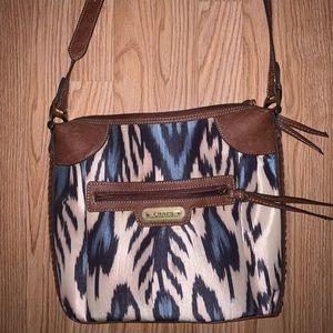 Never used CHAPS crossbody purse!
